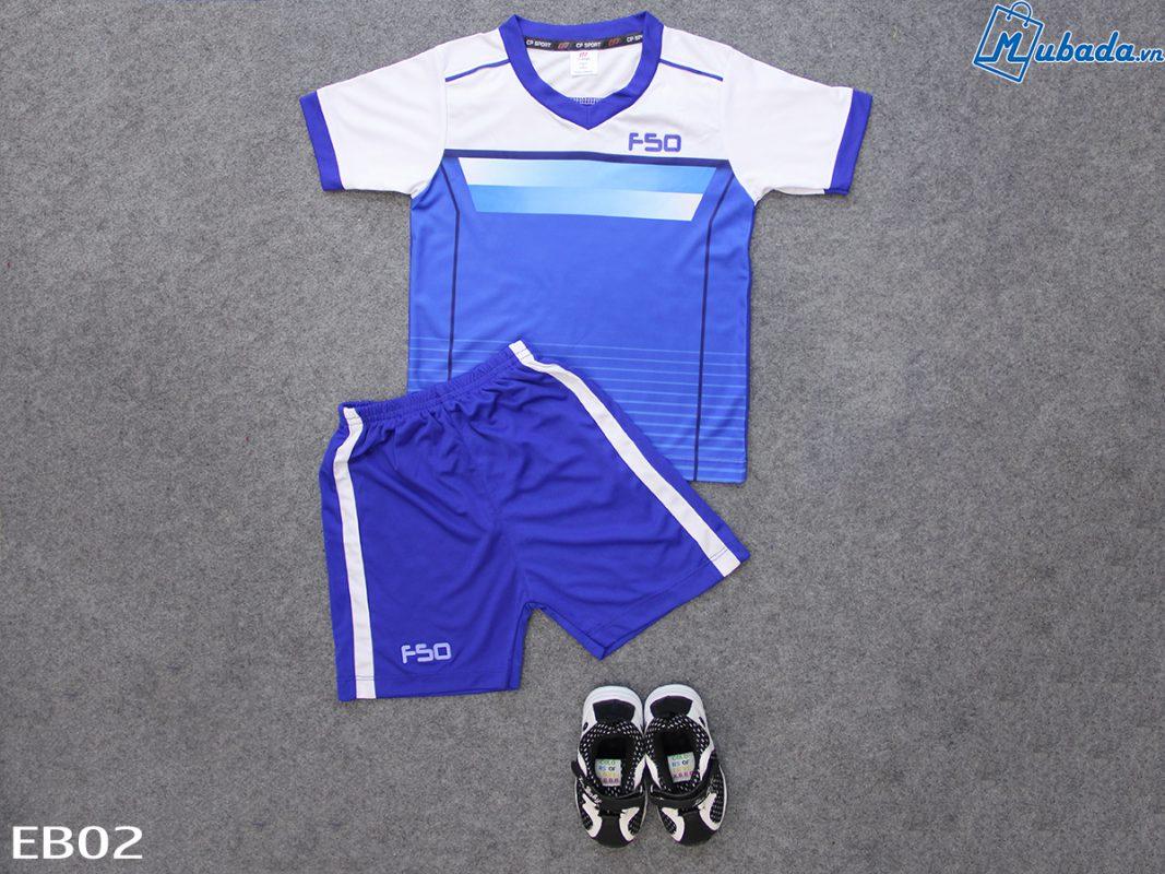 Quần áo trẻ em thể thao F50 biển