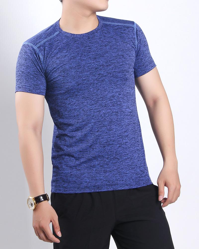 áo sớ gỗ nam xanh dương
