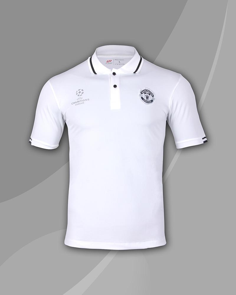 áo thun polo cao cấp mu trắng