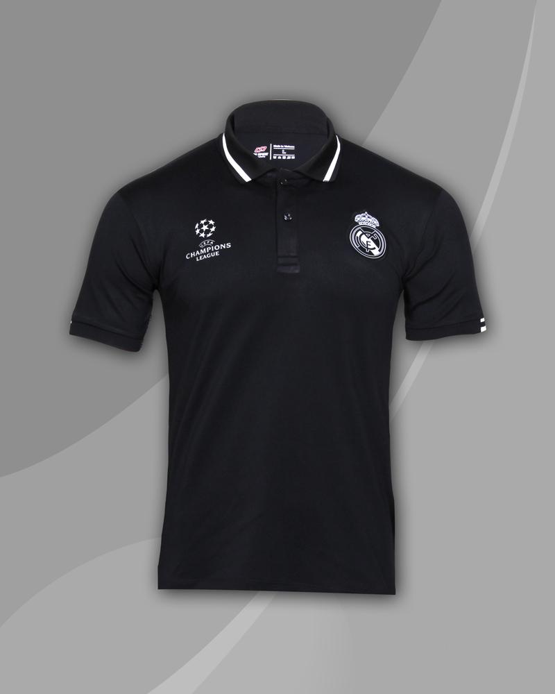 áo thun polo cao cấp real đen